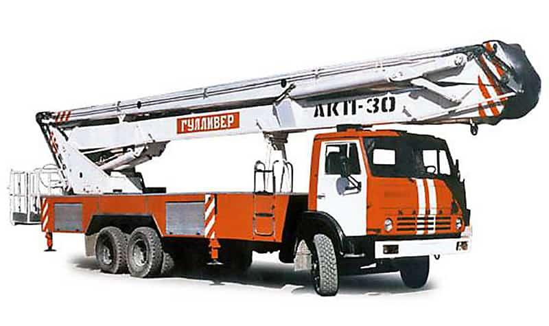 Автовышка Камаз (53215) АКП-30