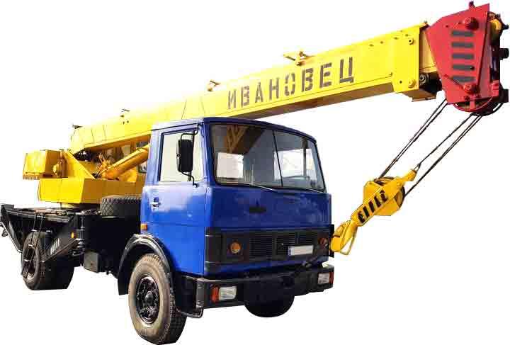 автокран Ивановец КС 3577