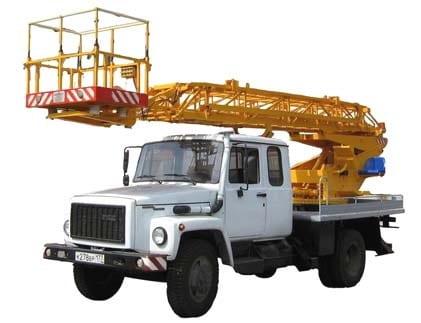 Автовышка ГАЗ-3307 АП-17
